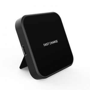 15W Fast Charging Pad Magnetic Wireless Charger with Bracket