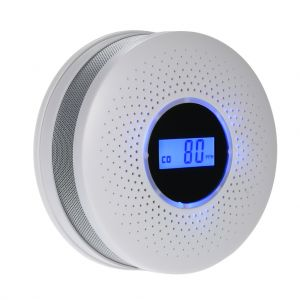 2 in 1 CO & Smoke Detector with LCD Display