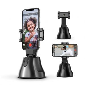 360 Degree Rotation Auto Shooting Selfie Stick Face & Object Tracking Holder