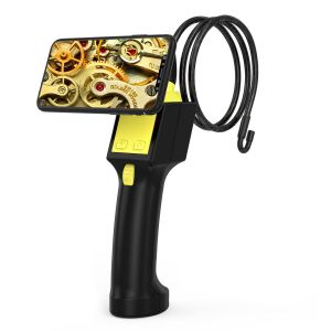 360 Degree Rotation Endoscope Camera Wireless Industrial Endoscope Snake Camera - 1m Cable and 8mm 1MP Len