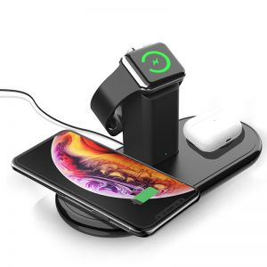 3 in 1 Wireless Charger Charging Station for iPhone/Airpods/Apple Watch