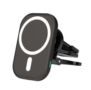 15W Magnetic Wireless Car Charger Car Air Vent Mount Holder for iPhone 12