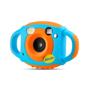 AMKOV CD-FW Digital Kids WiFi Camera with Front and Rear Dual Lens