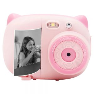 AMKOV CD-P02 Kids Digital Instant Print Camera WiFi Rechargeable Video Camera