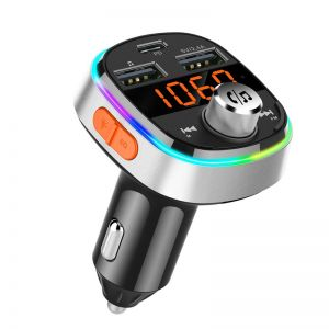 BC51T Car Audio MP3 Player Bluetooth Dual USB PD3.0 Fast Charge FM Transmitter