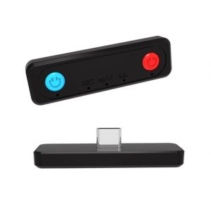 Bluetooth 5.0 Audio Transmitter Adapter for Nintendo Switch Lite PS4 PC