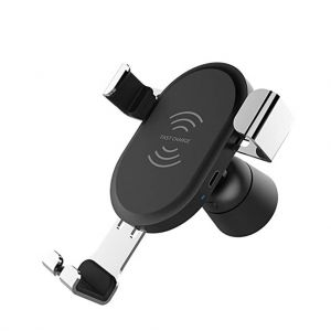 BQ001 Car Air Vent Mount Qi Wireless Charger QC3.0 Fast Charger Car Mount Holder