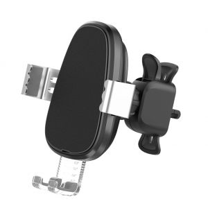 BQ007 Automatic Sensing 10W Fast Qi Wireless Car Charger Air Vent Phone Mount