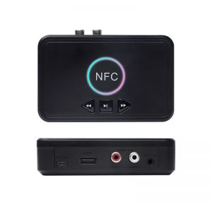 D10 NFC Bluetooth Receiver Wireless Stereo Audio Adapter