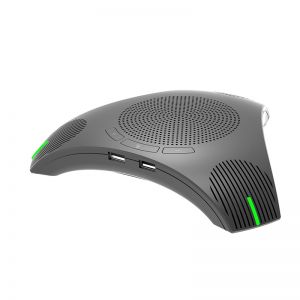 G95 Mini Conference Microphone Speakerphone Omnidirectional USB Powered from Desktop Laptop Computer