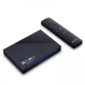 H96 Max Rockchip RK3566 Android 11.0 8K Smart TV Box with Voice Remote 8GB + 128GB