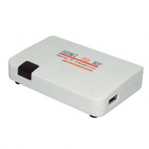 HDMI To RF Coaxial Converter Box With Remote Control