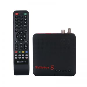 Hellobox 8 Satellite Receiver DVB-T2 Combo TV Box Satellite TV Play On Phone Support Android iOS
