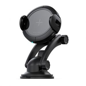 HYD-W5 15W Infrared Sensor Car Mount Stand Automatic Wireless Charger