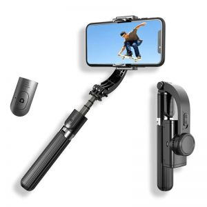 L08 Handheld Grip Stabilizer Selfie Stick with Tripod for Smartphone