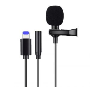 Lightning Microphone Clip-on Mic for iPhone 11/11 Pro Max/XS/XR/X/8