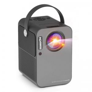 M6 Pro Android 9.0 Smart LED Projector Supports 4K Works with Netflix Prime Video - 2G+32G Grey