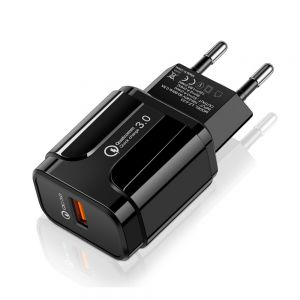 Quick Charge 3.0 USB Wall Charger Fast Charging Travel Charger Adapter