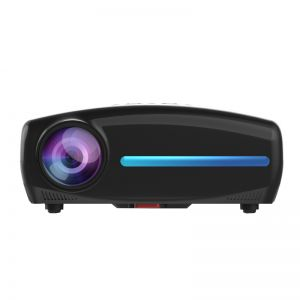 S4 Android 9.0 Smart LCD Projector Support 4K HDMI - 2GB+32GB Black