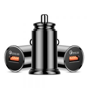 Single USB QC 3.0 Car Charger for Android and iDevice
