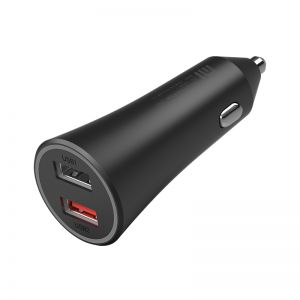 Xiaomi CC06ZM Car Charger 37W Dual USB Quick Charge Car Charger with LED Light